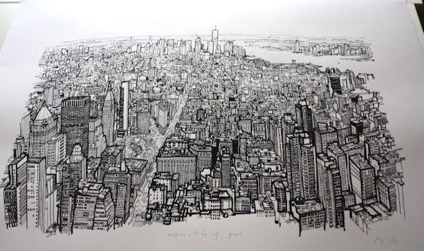 Dibujos New York