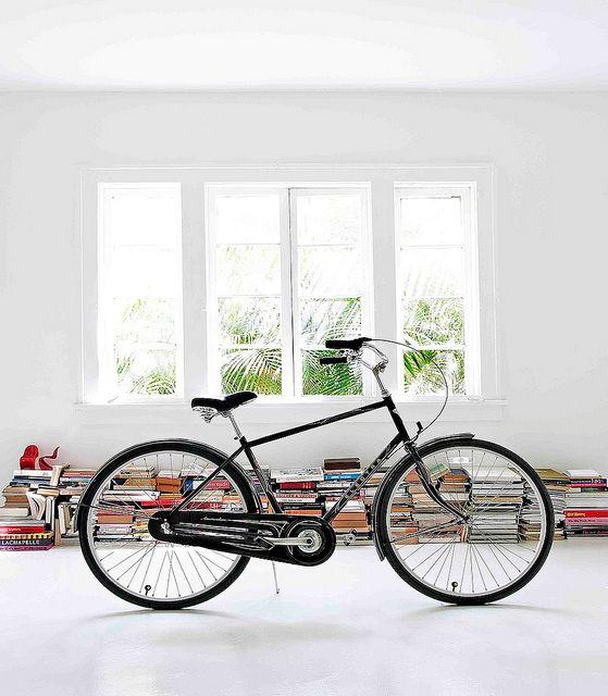 Libros y objetos decorativos aportan color a los interiores modernos y minimalistas