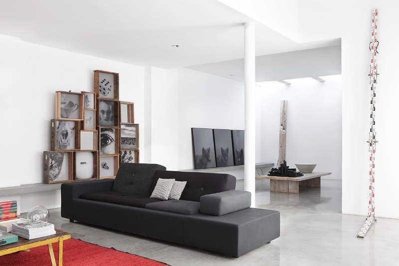 Estudio moderno y minimalista