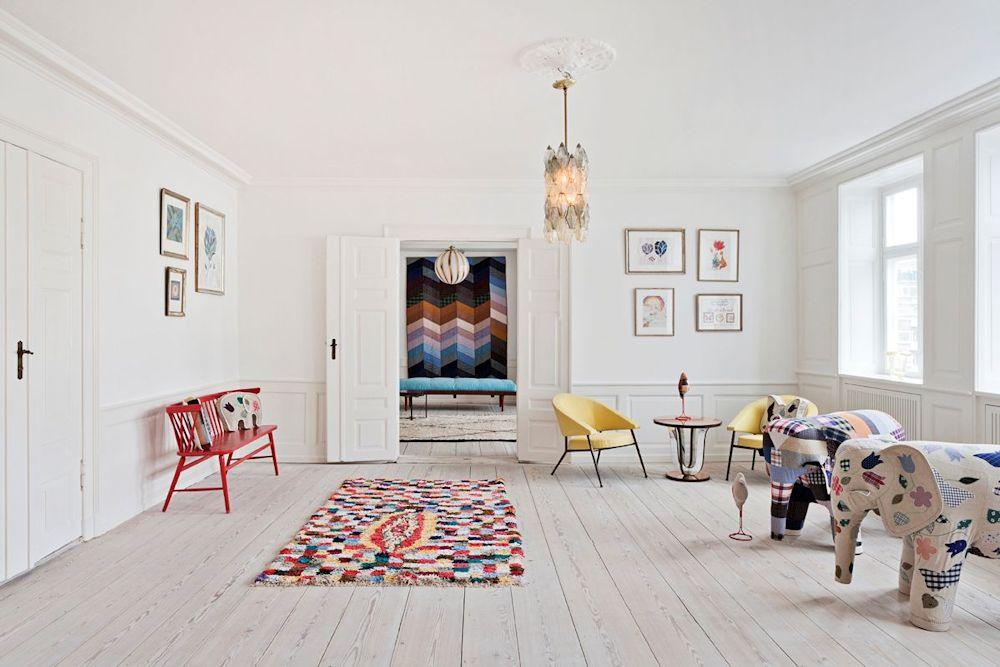 Diseño de interiores de apartamentos 10