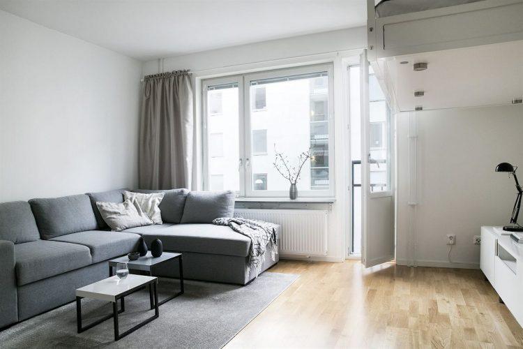 Ideas para ganar espacio en depas pequeños: elevar la cama