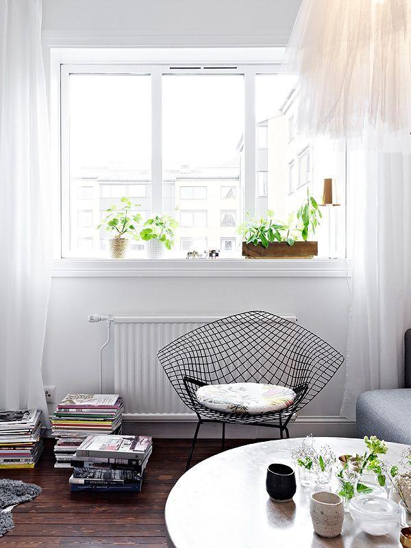 Departamentos pequeños: Mini departamento de diseño escandinavo 1