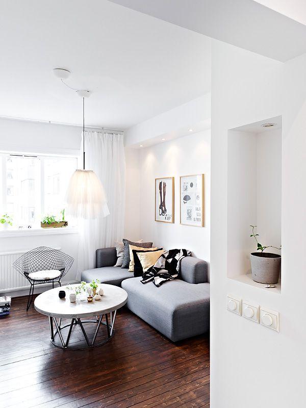 Departamentos pequeños: Mini departamento de diseño escandinavo 10