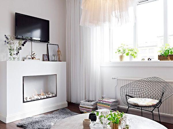 Departamentos pequeños: Mini departamento de diseño escandinavo 2
