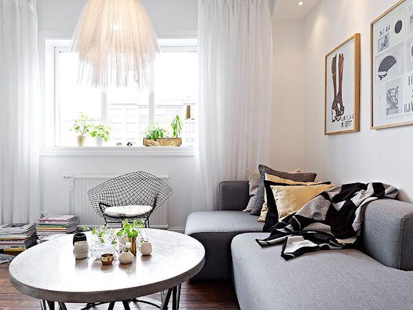 Departamentos pequeños: Mini departamento de diseño escandinavo 4