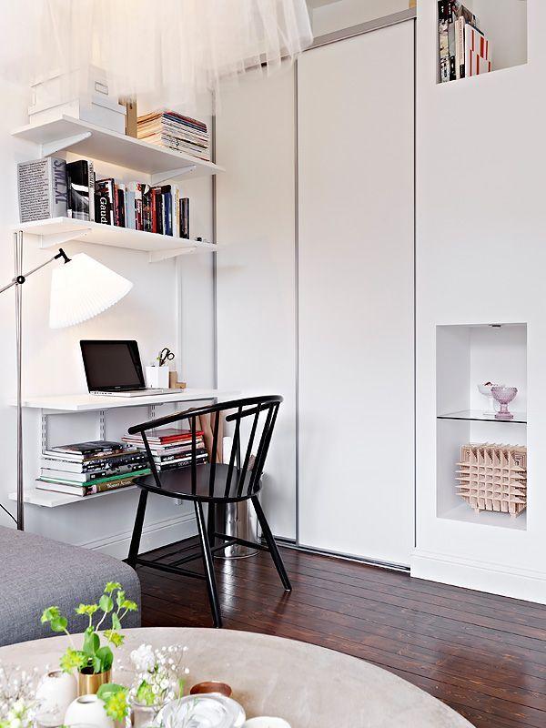 Departamentos pequeños: Mini departamento de diseño escandinavo 8