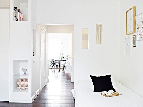 Departamentos pequeños: Mini departamento de diseño escandinavo 9