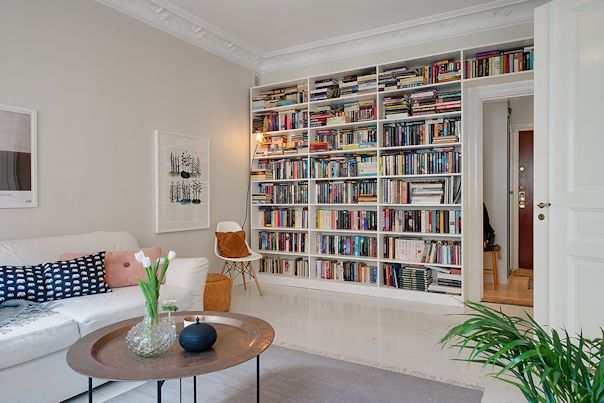 Interiores de departamentos: 61 metros² con decoracion escandinava 2