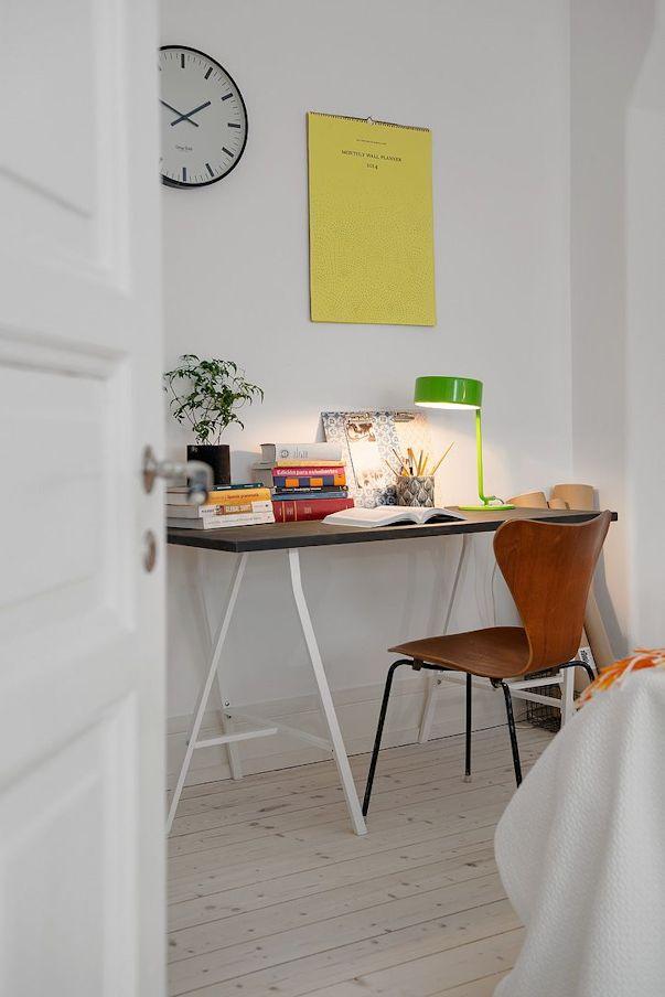 Decoración departamento 2 ambientes estilo escandinavo 11