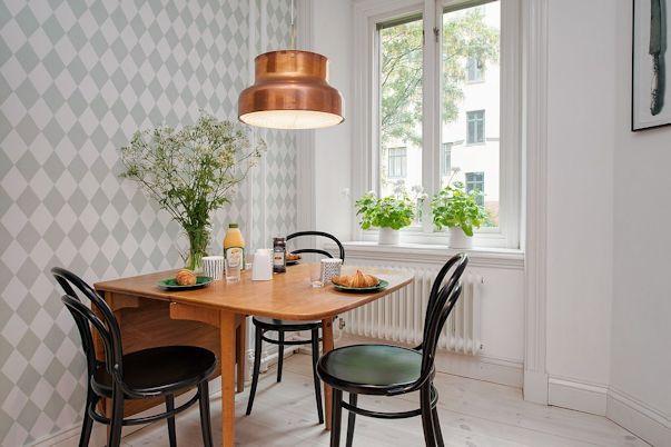 Decoración departamento 2 ambientes estilo escandinavo 8