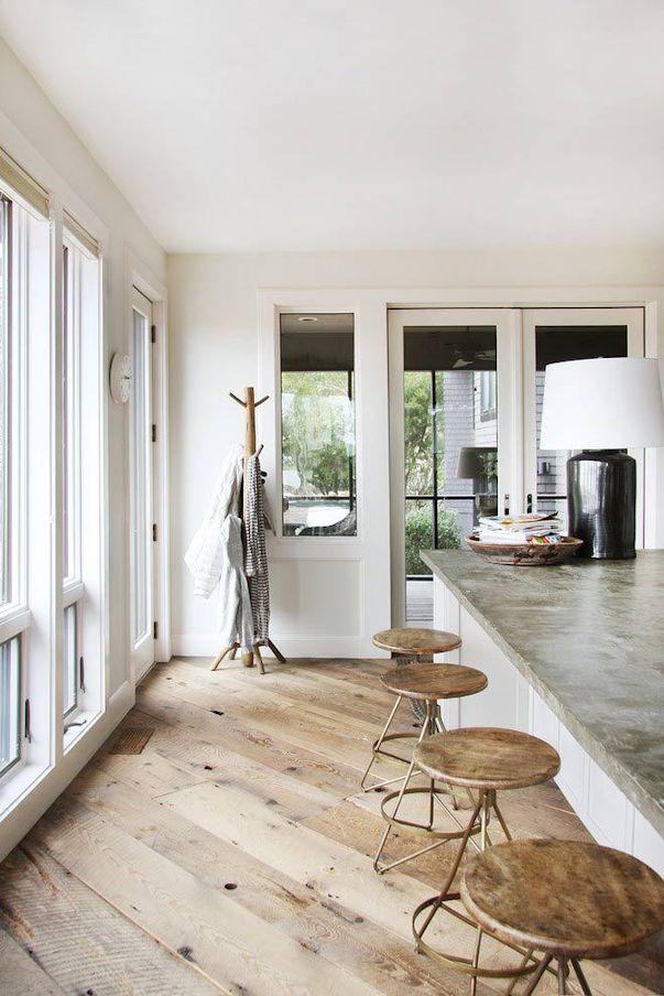 Interiores de casas: decoración con muebles rústicos 6