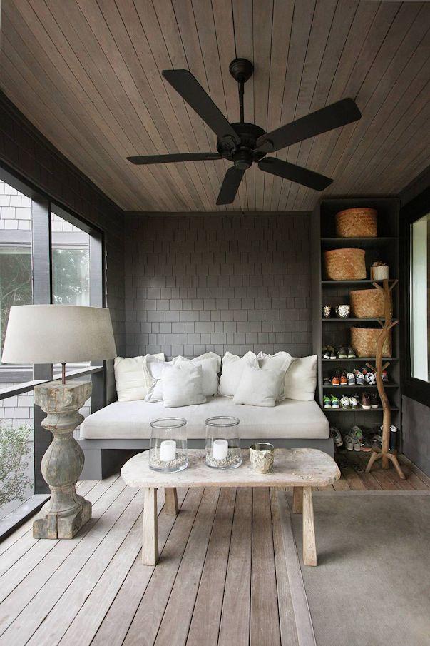 Interiores de casas: decoración con muebles rústicos 7