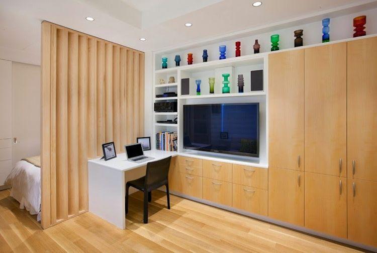 Los muebles a medida resultan ideales para departamentos pequeños ya que se ajustan a las necesidades sin desperdiciar metros