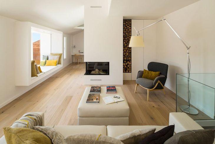 Decoración de interiores de casas contemporáneas 1