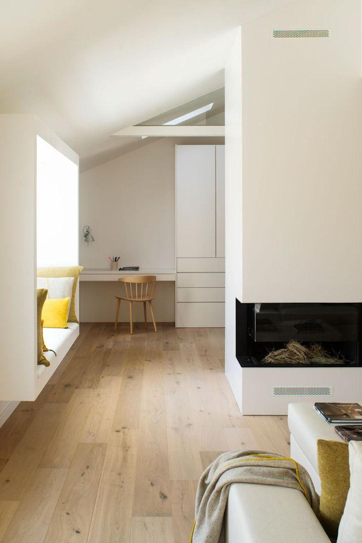 Decoración de interiores de casas contemporáneas 2