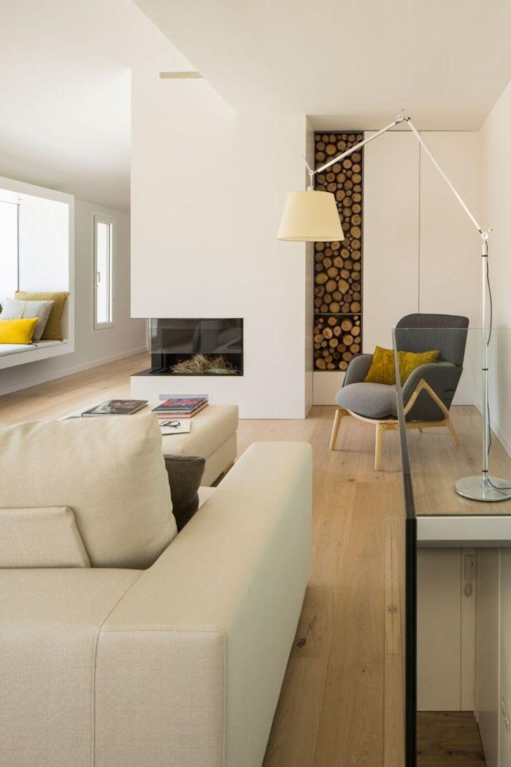Decoración de interiores de casas contemporáneas 3