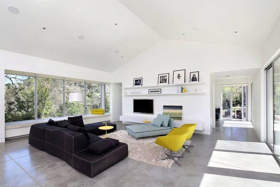 Interiores de casas modernas Hillside Modern