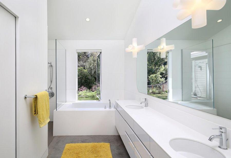 Interiores de casas modernas hillside modern Interiores de casas modernas de un piso