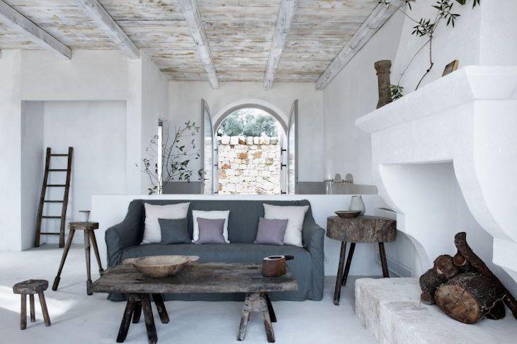 Interiores de casas rústicas 1