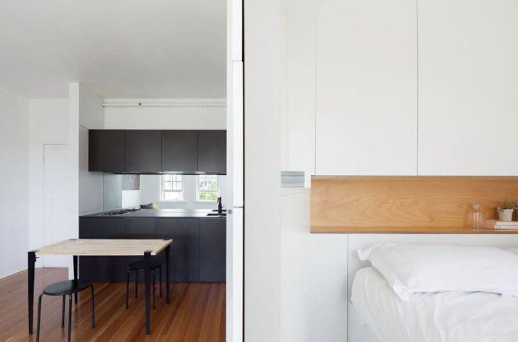 Interiores de un departamento pequeño de 27 metros² con mucho diseño 10
