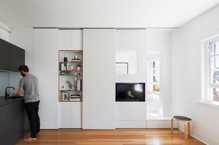 Departamento pequeño minimalista de 27 metros² con mucho diseño 1