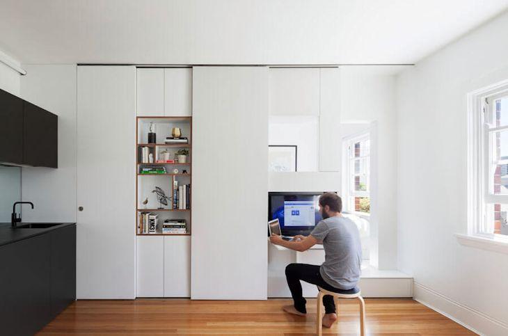 Interiores de un departamento pequeño de 27 metros² con mucho diseño 5