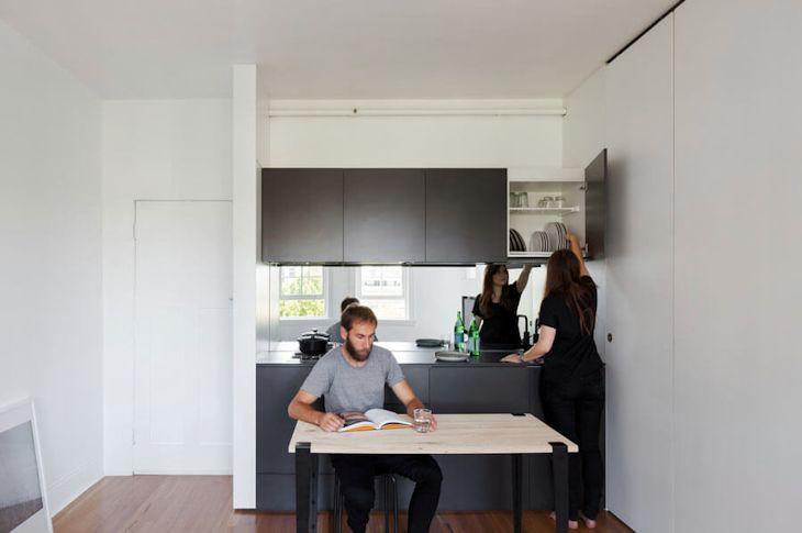 Interiores de un departamento pequeño de 27 metros² con mucho diseño 6