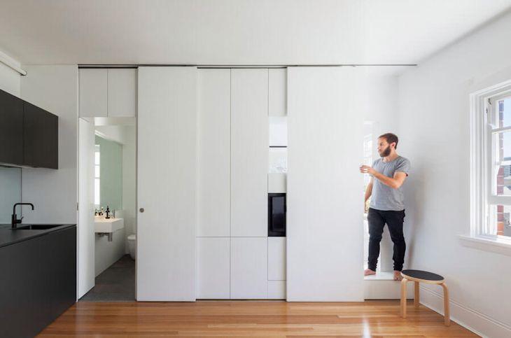 Interiores de un departamento pequeño de 27 metros² con mucho diseño 8