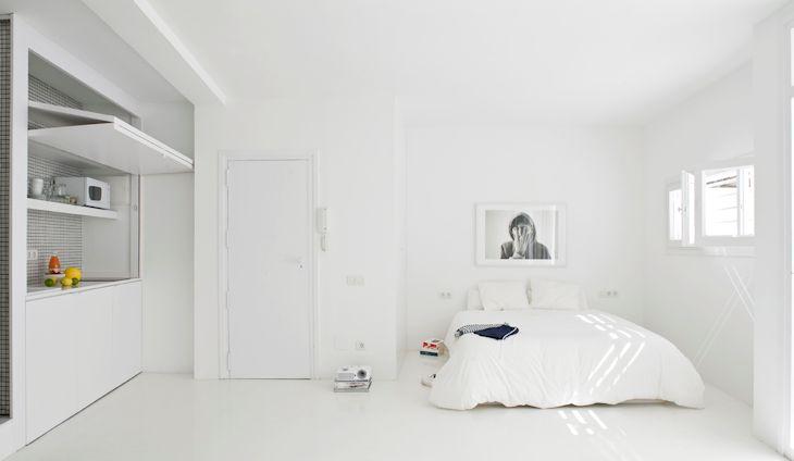 Departamentos pequeños minimalistas 1