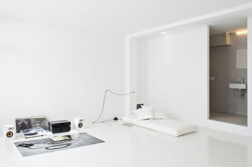 Antes y despu s mini departamento minimalista for Mini casa minimalista
