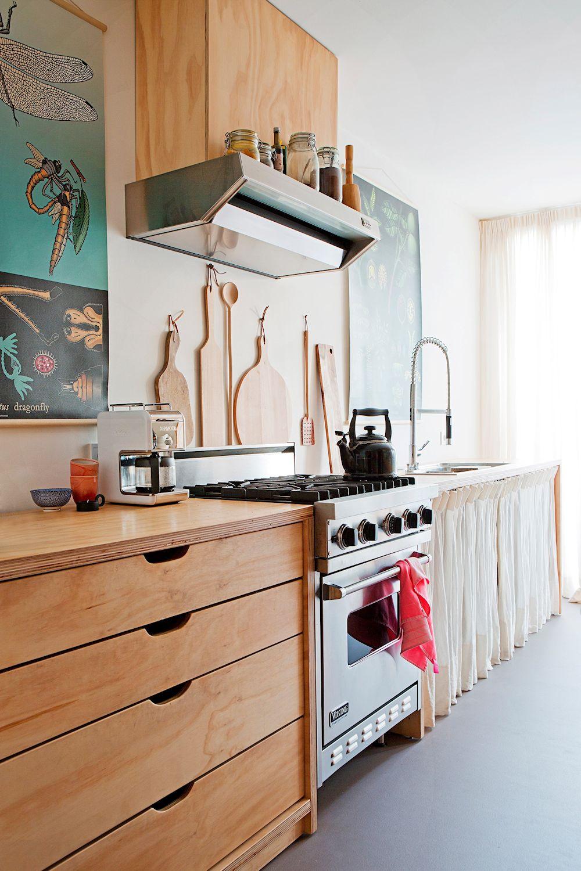 10 dise os de cocinas que incorporan madera a la decoraci n for Partes de un mueble de cocina