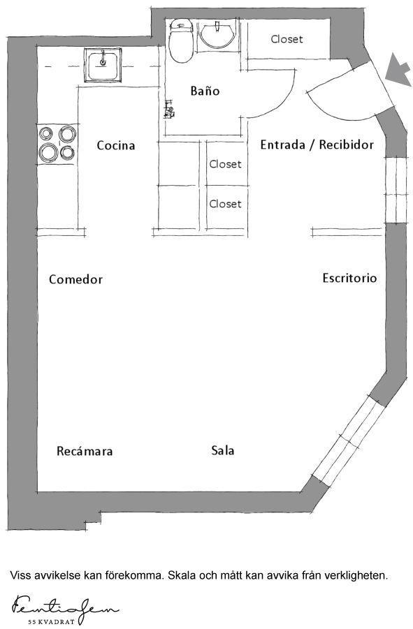 Plano departamento