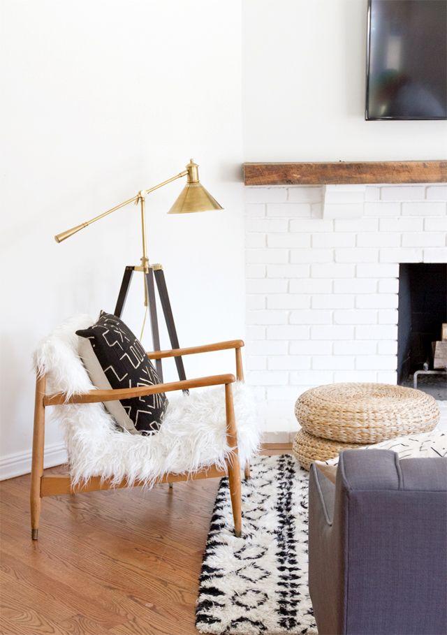 Muebles de diseño escandinavo y clásicos forman parte de la nueva decoración.