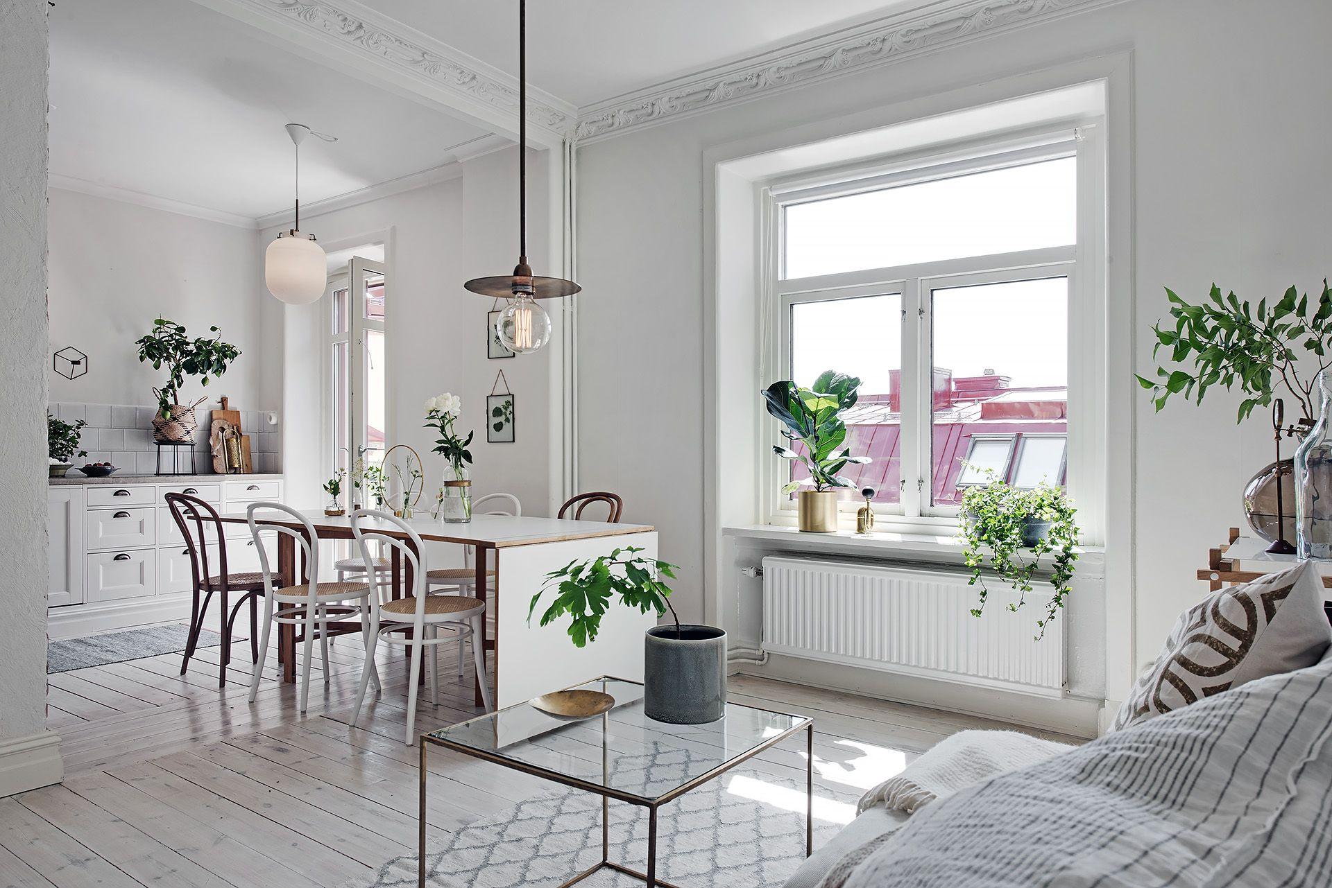 Departamento escandinavo con cocina abierta de dise o depto9 for Cocinas de departamentos