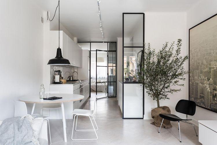 Decoración de departamentos modernos y minimalistas