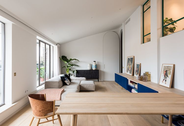 Diseño de interiores de departamentos minimalistas y contemporáneos