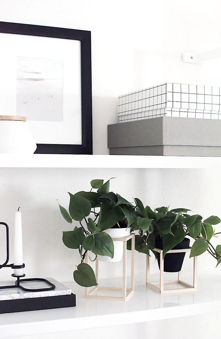 DIY - Hazlo tú mismo: maceteros minimalistas de madera