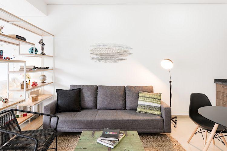 Departamento pequeño bien decorado en la Roma Norte, CDMX