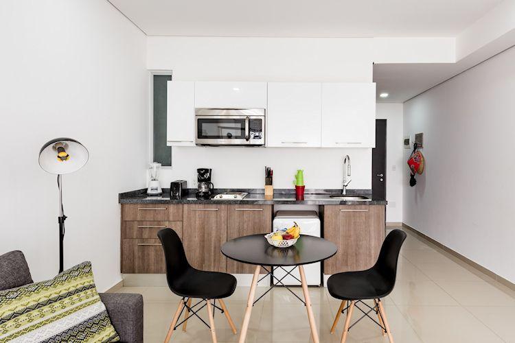 Cocina y comedor moderno