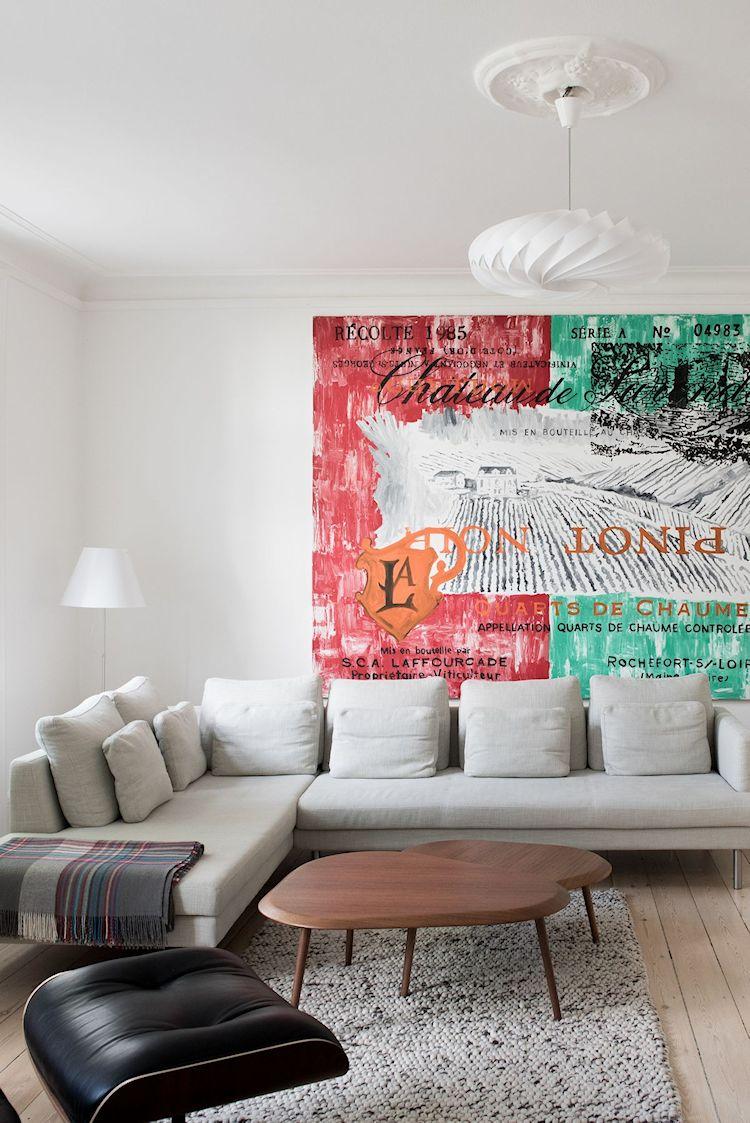 Interiores de departamentos: hogar con diseño moderno escandinavo 2