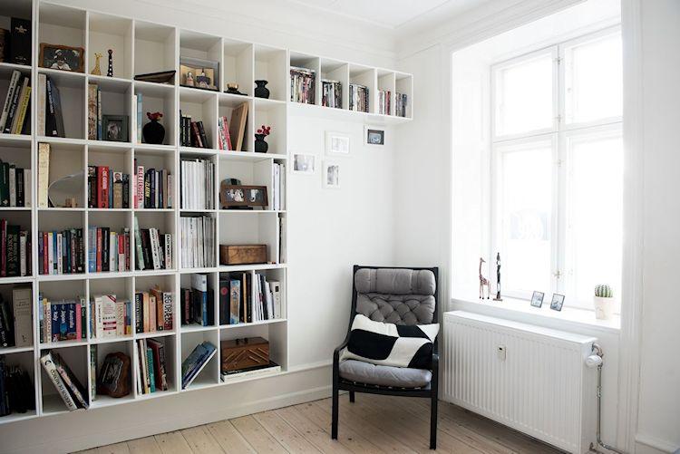 Interiores de departamentos: hogar con diseño moderno escandinavo 5