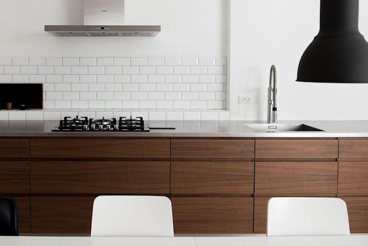 Interiores de departamentos: hogar con diseño moderno escandinavo 9