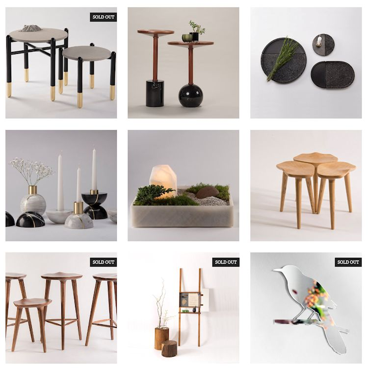 Tienda en línea de Peca Estudio: muebles, objetos y accesorios decorativos 2