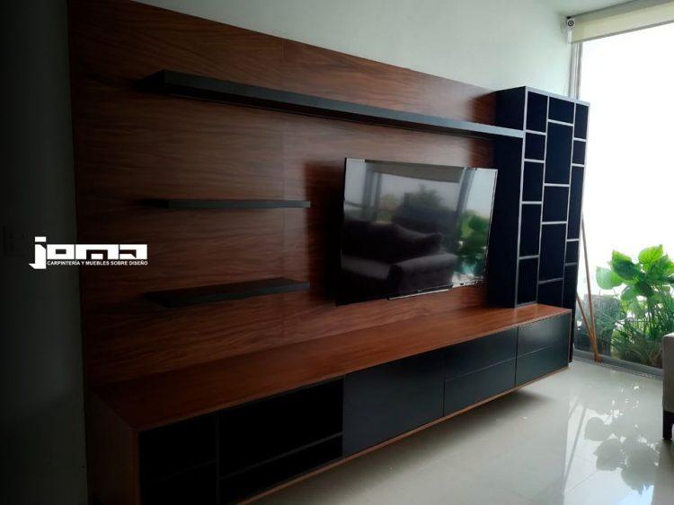 Joma Muebles - Muebles para la TV, centros de entretenimiento en variedad de maderas