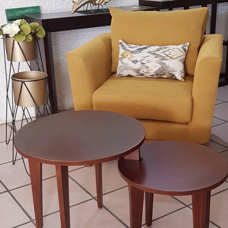 Muebles Antea en Mérida, Yucatán: mesas de centro y auxiliares para salas