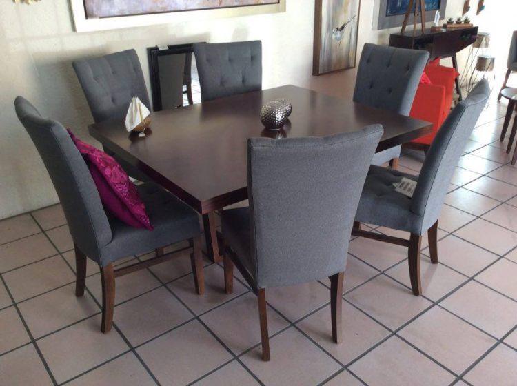 Muebles Antea en Mérida, Yucatán: comedores, mesas y sillas tapizadas