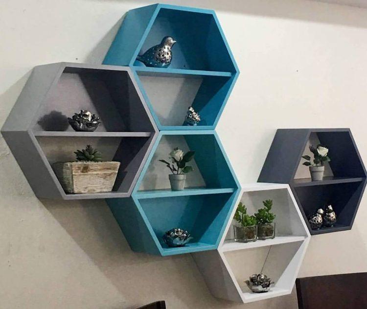 Muebles Antea en Mérida, Yucatán: repisas de diseño