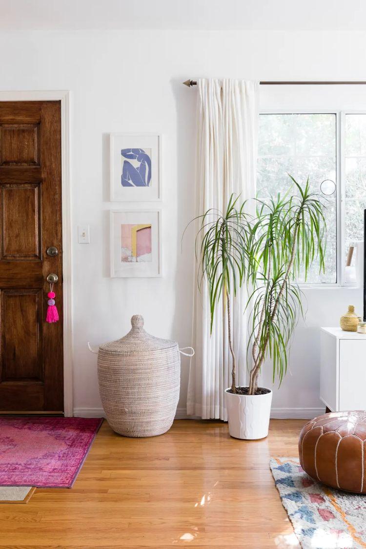 Las plantas las podemos ver en todos los ambientes de la casa, sumando color y puntos de interés a la decoración.