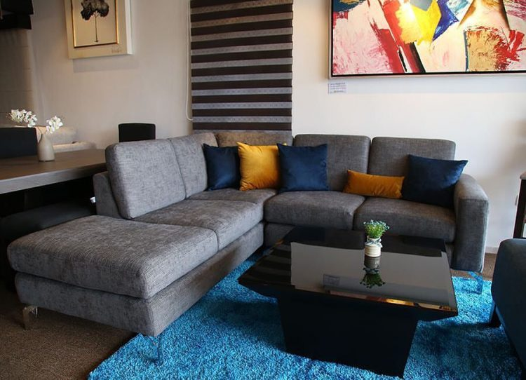 Muebles para salas contemporáneas y accesorios decorativos