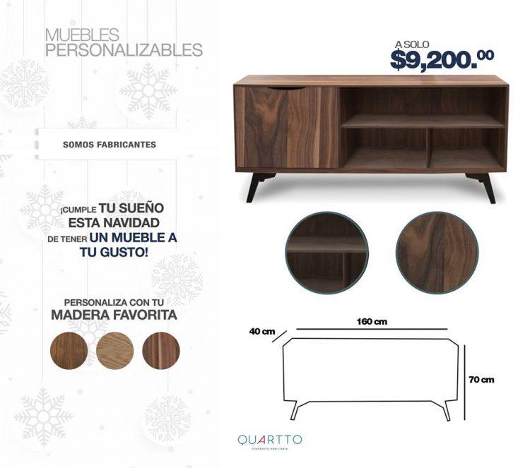 Quartto - Tienda en línea mexicana de muebles en diferentes estilos 3